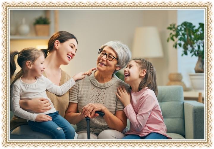 Рамки для бабушки