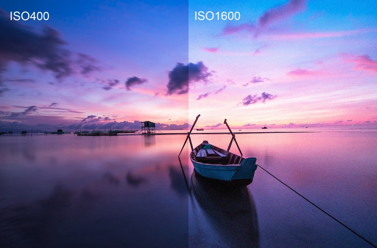 Настройте ISO